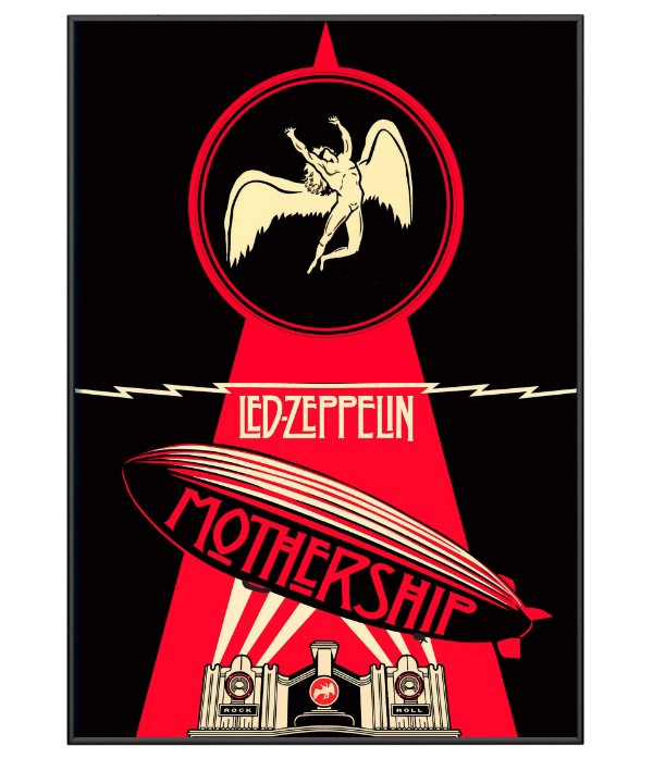 Poster Minimalista Led Zeppeling