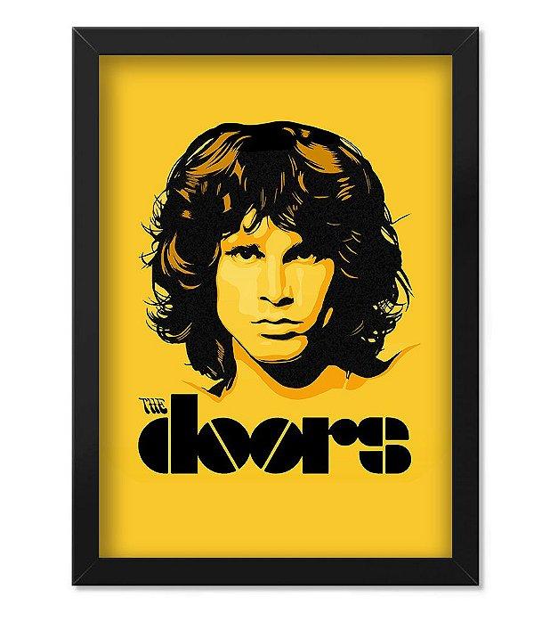 Poster com Moldura Banda The Doors