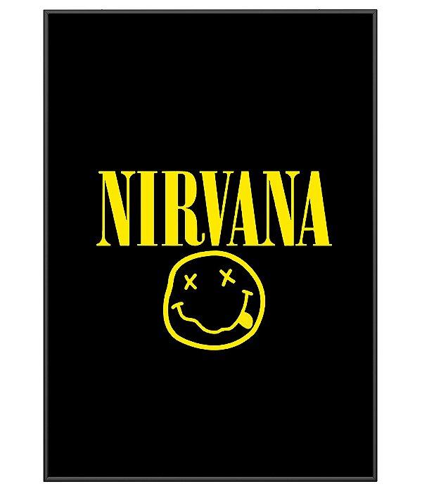 Poster Minimalista Banda Nirvana