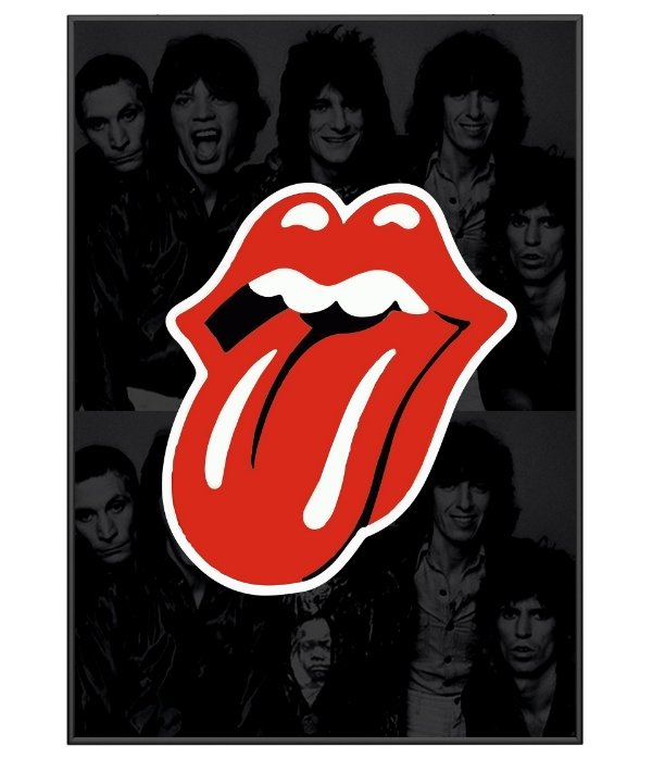 Poster Minimalista The Rolling Stones
