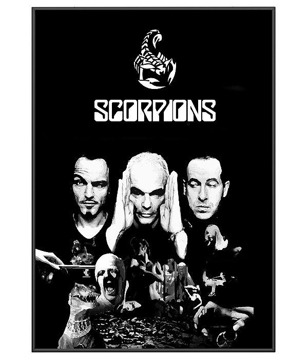 Poster Minimalista Scorpions
