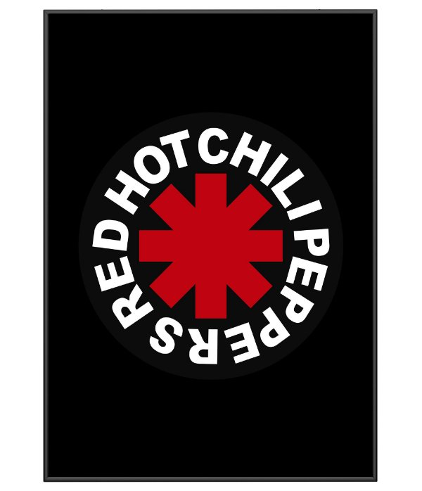 Poster Minimalista Red Hot Chili Peppers