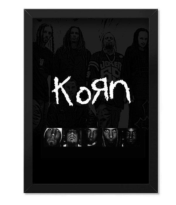 Poster com Moldura Korn
