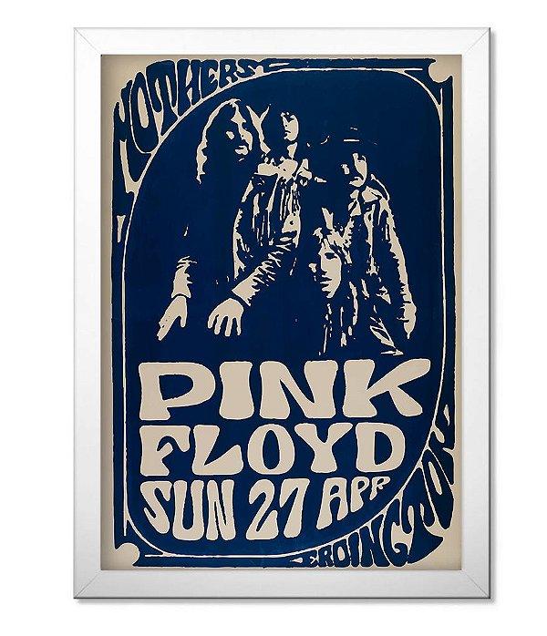 Poster com Moldura Banda Pink Floyd