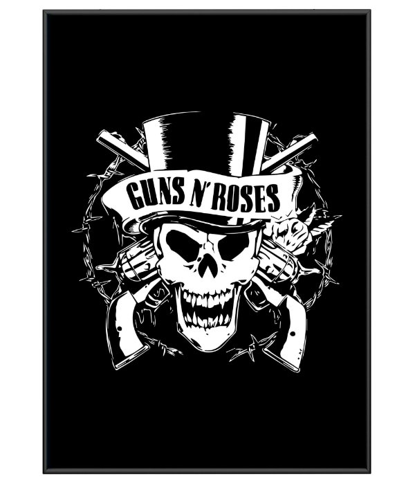 Poster Minimalista Guns N' Roses