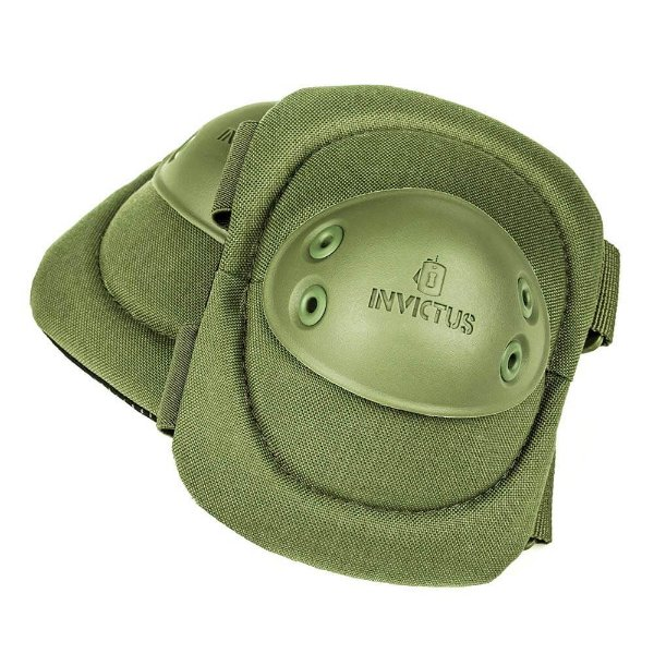Cotoveleiras Táticas Protec Invictus Verde Oliva