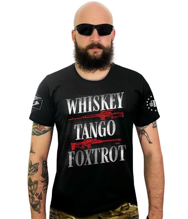 Camiseta Squad T6 Instrutor Fritz Whiskey Tango and Foxtrot
