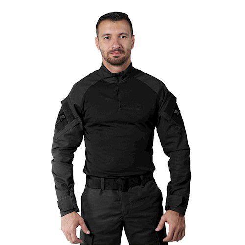 Combat Shirt Preta Bélica Steel