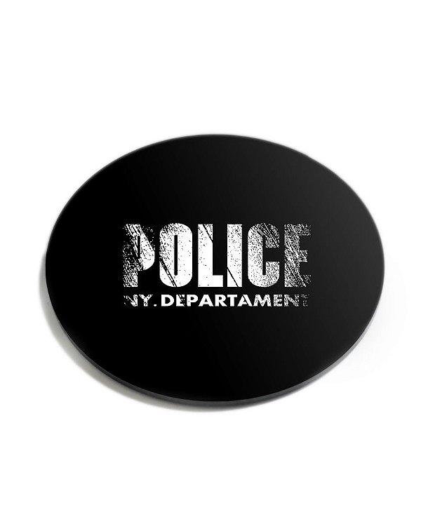 Porta Copos Militar Police NY Department Acrílico