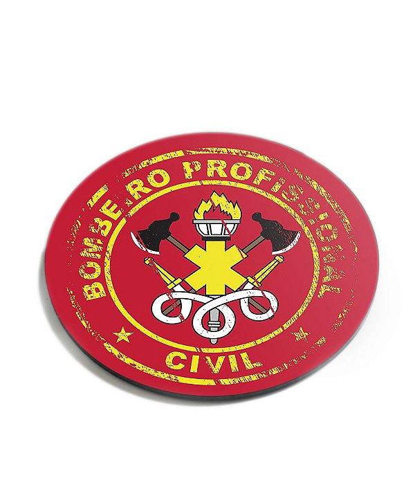 Porta Copos Militar Bombeiro Civil Acrílico