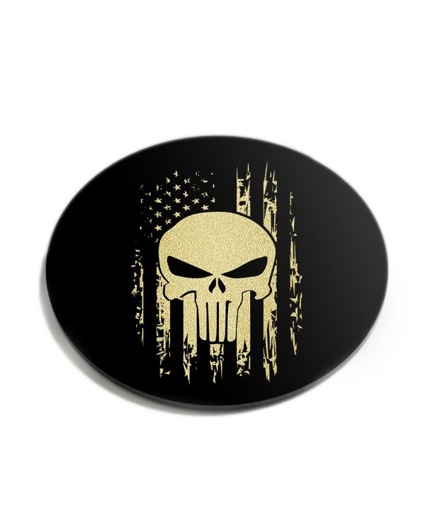 Porta Copos Militar EUA Defense Punisher Acrílico