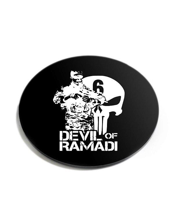 Porta Copos Militar Devil Of Ramadi Acrílico