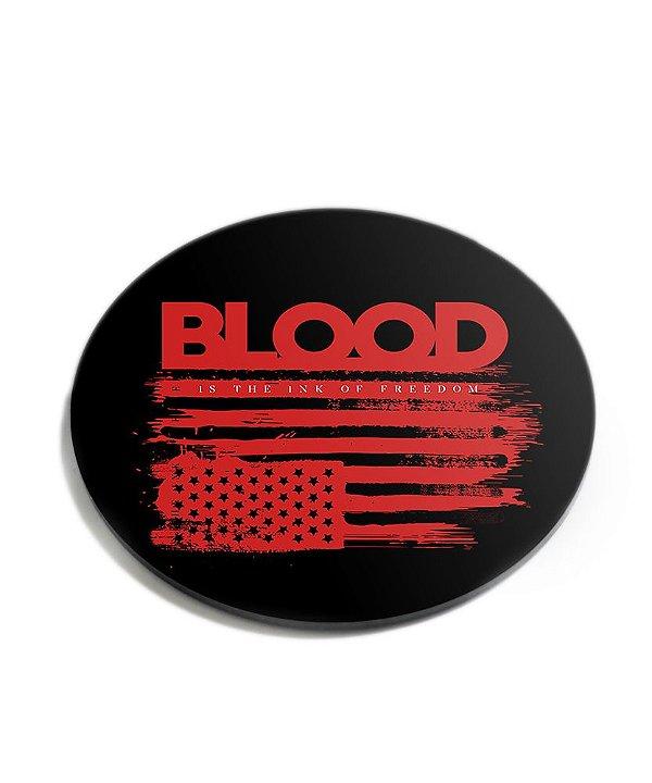 Porta Copos Militar Blood Acrílico