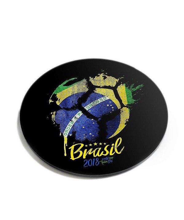 Porta Copos Brasil Acrílico