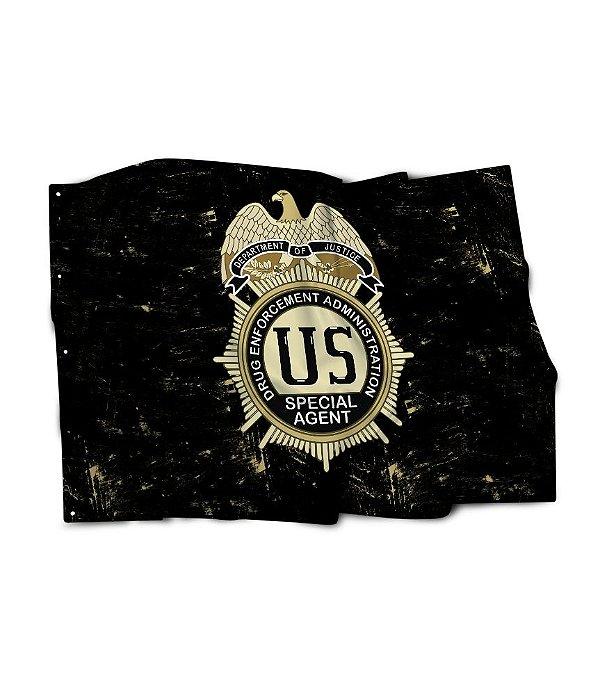 Bandeira DEA Drug Enforcement Administration
