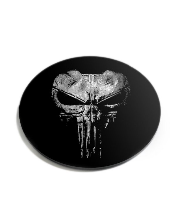 Porta Copos Militar Punisher Plate Acrílico