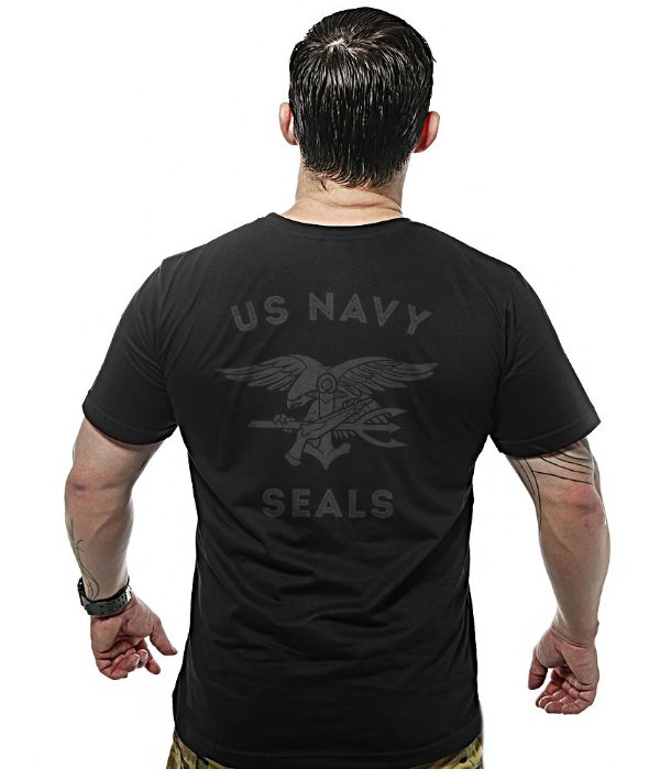 Camiseta Militar Dark Line Original Navy Seals