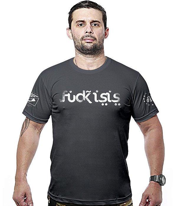 Camiseta Militar Fuck Isis Hurricane Line