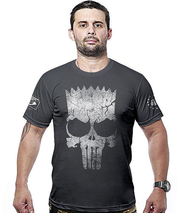 Camiseta Militar Punisher Bart Hurricane Line