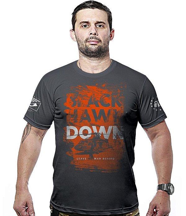 Camiseta Militar Black Hawk Down Hurricane Line