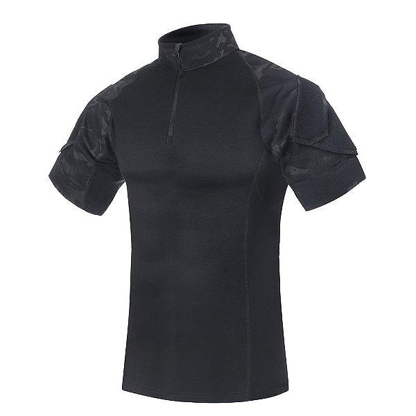 Camiseta de Combate Fighter Multicam Black Invictus