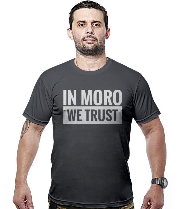 Camiseta Militar In Moro We Trust