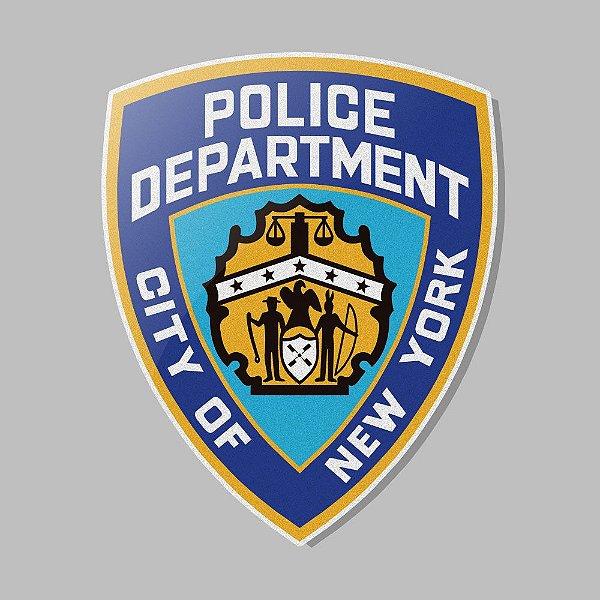 Adesivo Exclusivo Police NYPD