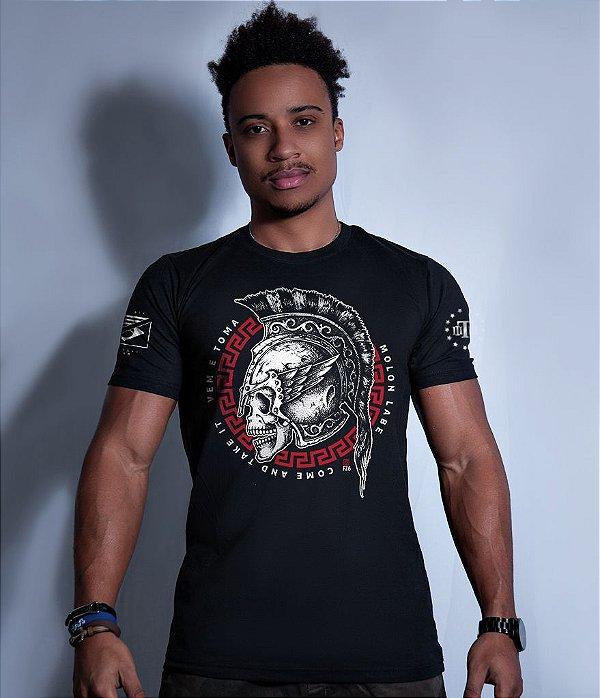 Camiseta Squad T6 GUFZ6 Molon Labe Come And Take It