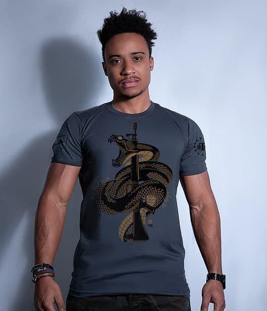 Camiseta Squad T6 GUFZ6 Don't Tread On Me