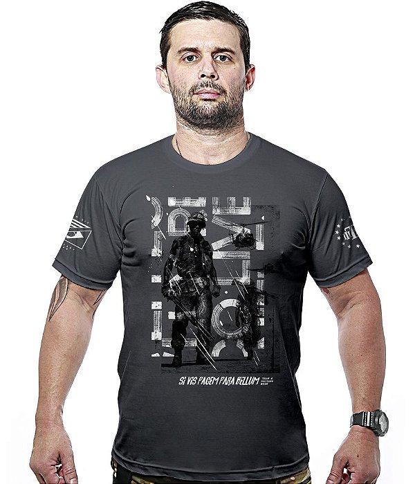 Camiseta Militar Si Vis Pacem Team6 Hurricane Line