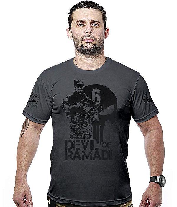 Camiseta Militar Devil Of Ramadi Hurricane Line