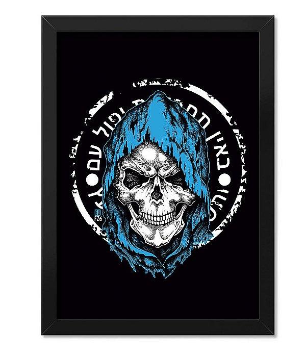 Poster com Moldura GUFZ6 Mossad Operação Especial