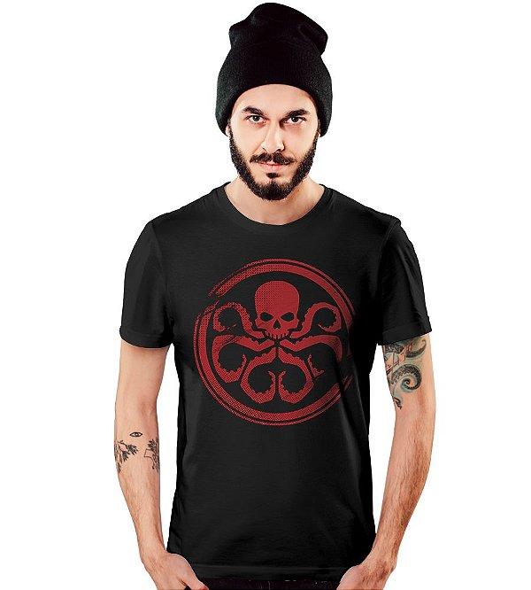 Camiseta Filmes Hydra Avengers