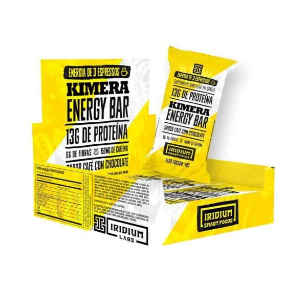 Kimera Energy Bar Iridium Labs 12 unidades