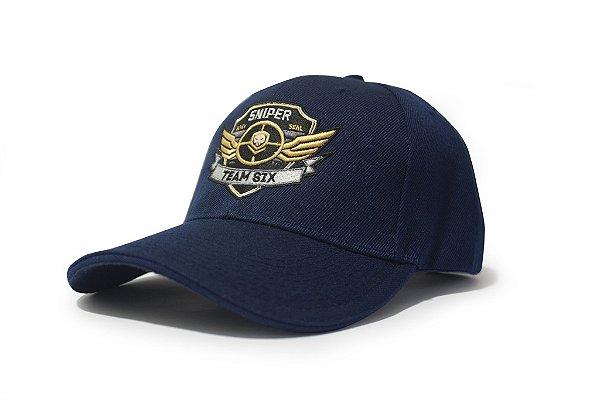 Boné Sniper Americano Team Six Navy Seal