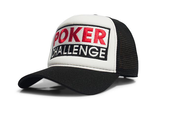 Boné Poker Challenge Team Six