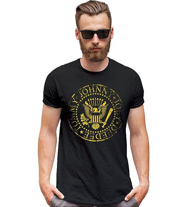 Camiseta da Banda Ramones