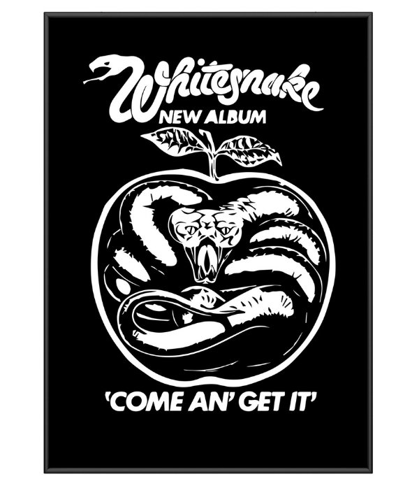 Poster De Rock Whitesnake Come An Get It