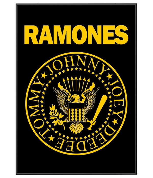 Poster Basnda de Rock Ramones