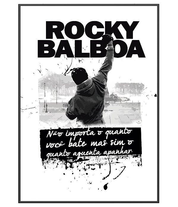 Poster Temático Rocky Balboa