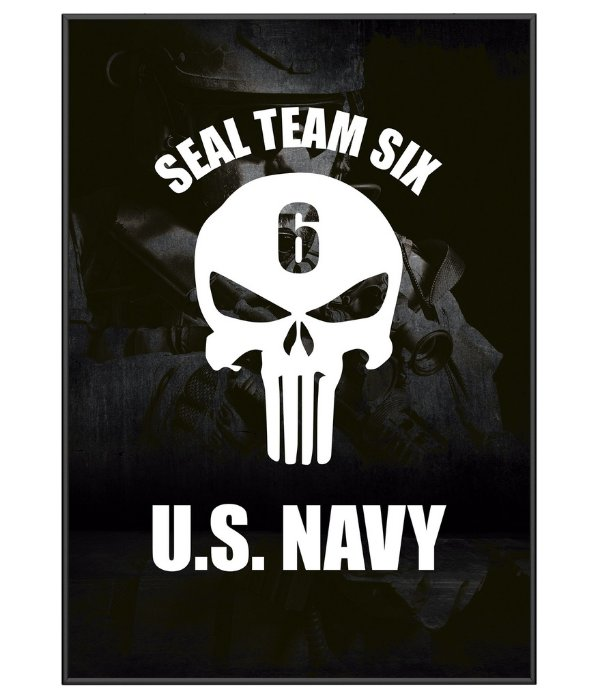 Poster Militar Seal Team Six US Navy