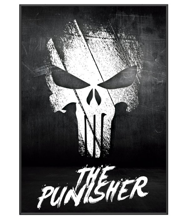Poster Militar Punisher O Justiceiro