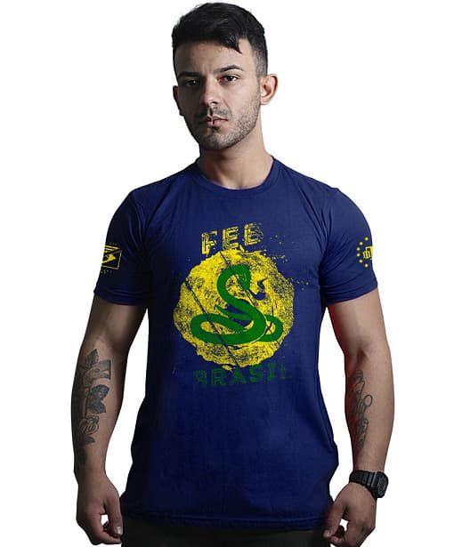 Camiseta Militar FEB força expedicionária brasileira
