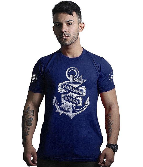 Camiseta Militar Masculina Marinha do Brasil Exclusiva Team Six ... f84637d7a1e