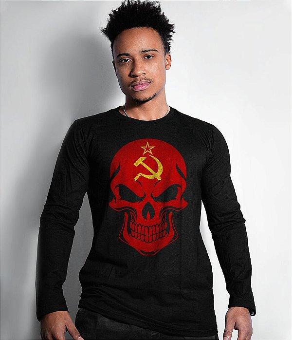 Camiseta Manga Longa União Soviética