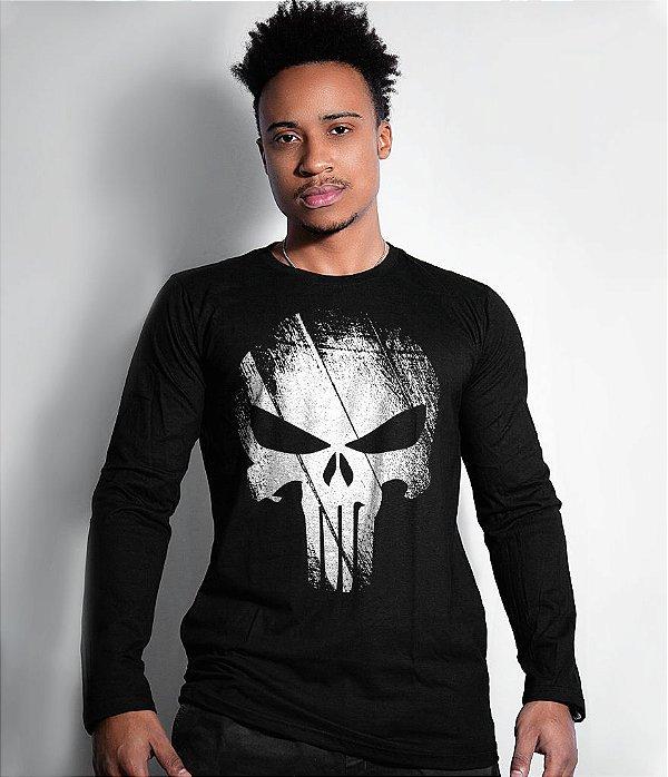 Camiseta Manga Longa The Punisher