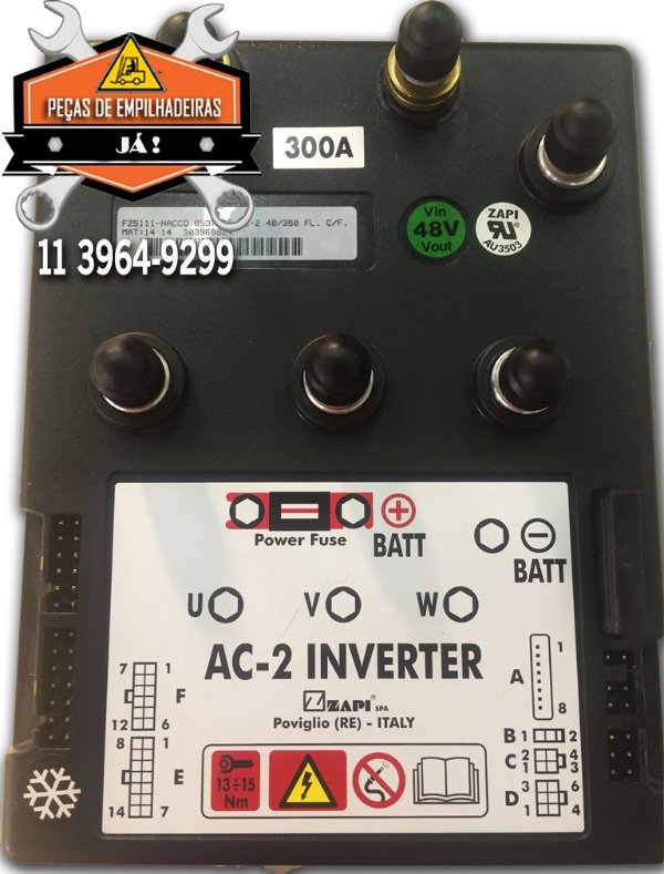 Módulo Controlador AC2 Inverter 48/375 Flash