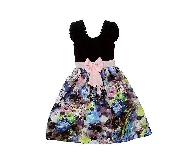Vestido de Laço Menina Bonita