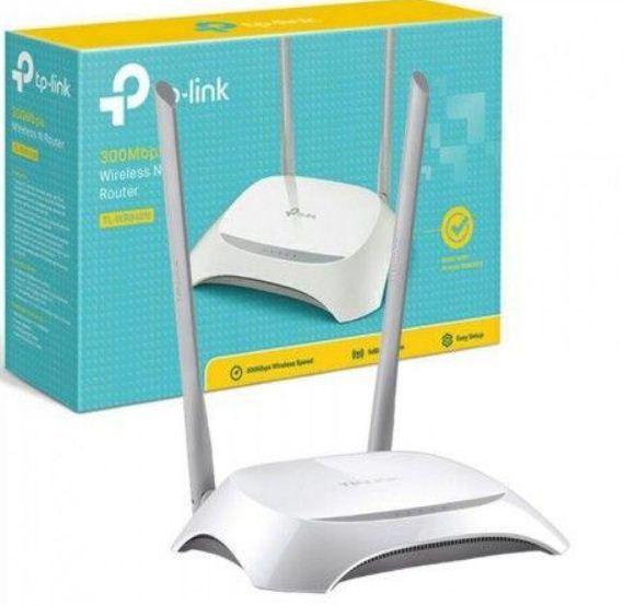 Roteador Tep-link 300 Mbps Cor Branco 2 antenas Lacrado