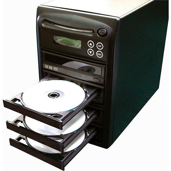 Duplicadora de DVD e Cd com 4 Gravadores Samsung